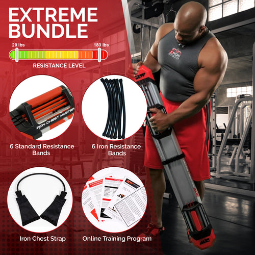 Iron Chest Master Fitness System - EXTREME Package