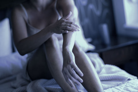 moisturize hands and body at night before bed