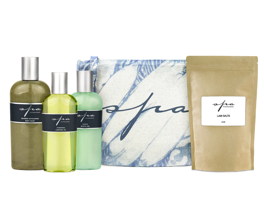 *LIMITED EDITION* DETOX BATH KIT WITH TIE DYE BAG
