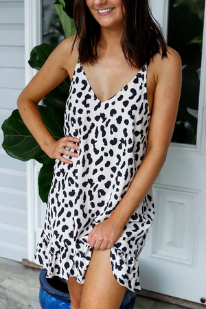 Haidee Leopard Dress