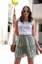Wanderer Polka Dot Skirt