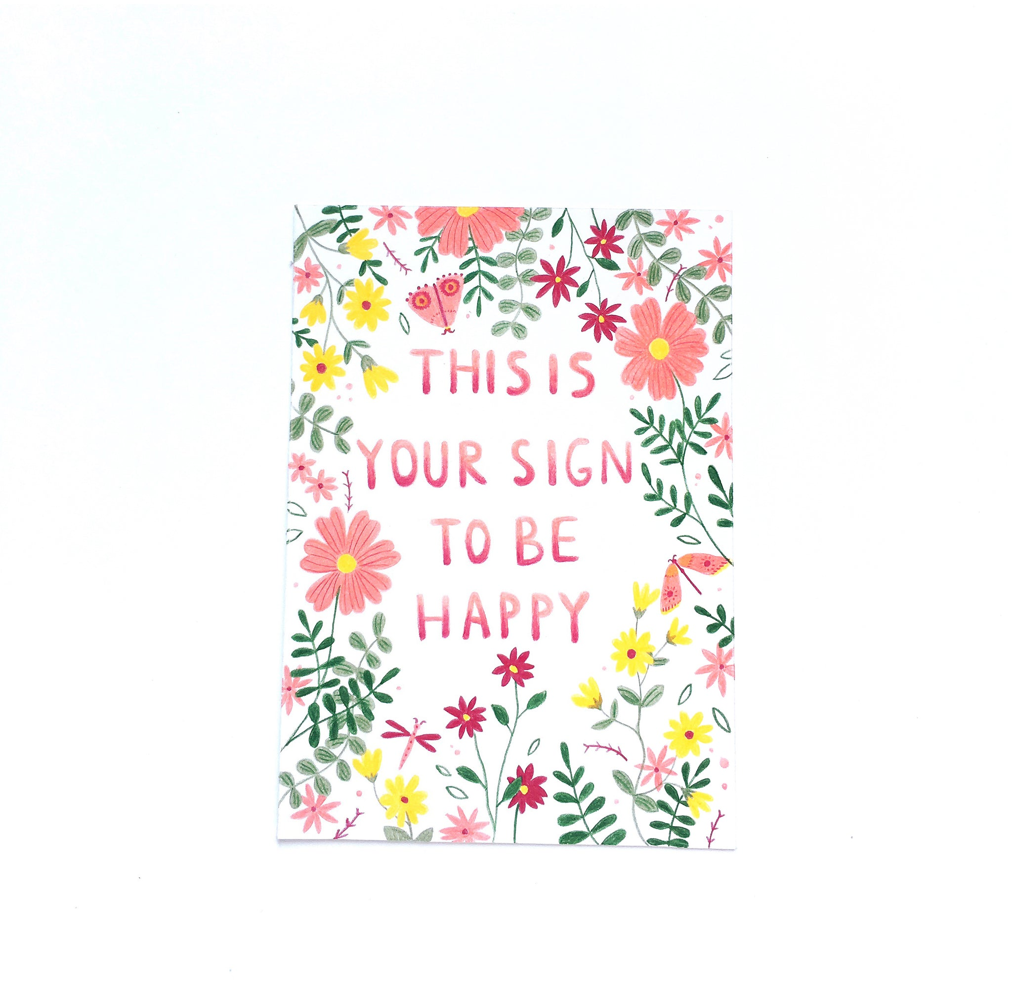 Illustrated Affirmation Card