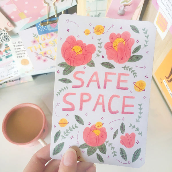 Original Illustration - Safe Space