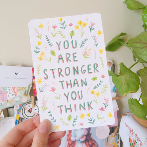Original Illustration - You Are Stronger Than You Think