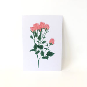 A6 Postcard Print - Rose Bouquet