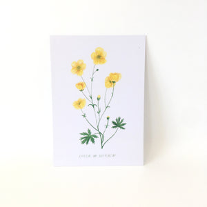 A6 Postcard Print - Cheer Up Buttercup