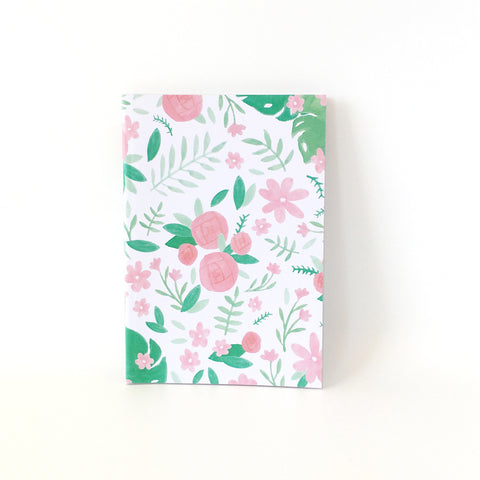 A6 Lined Journal - Green