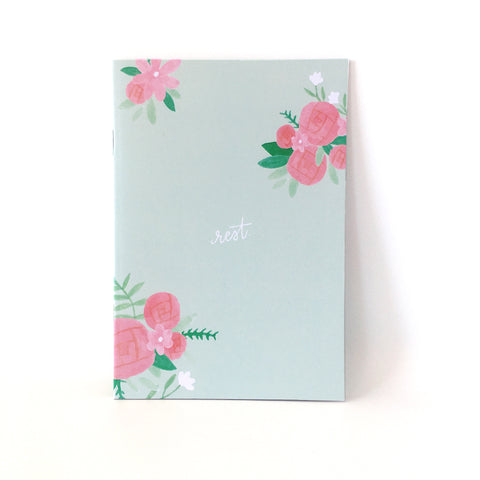 A5 Dot Grid Journal - Green (Rest)