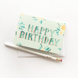 A6 Greeting Card - Happy Birthday