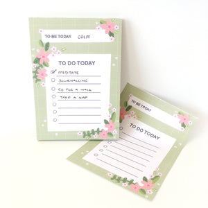 A6 To Be / To Do Notepad