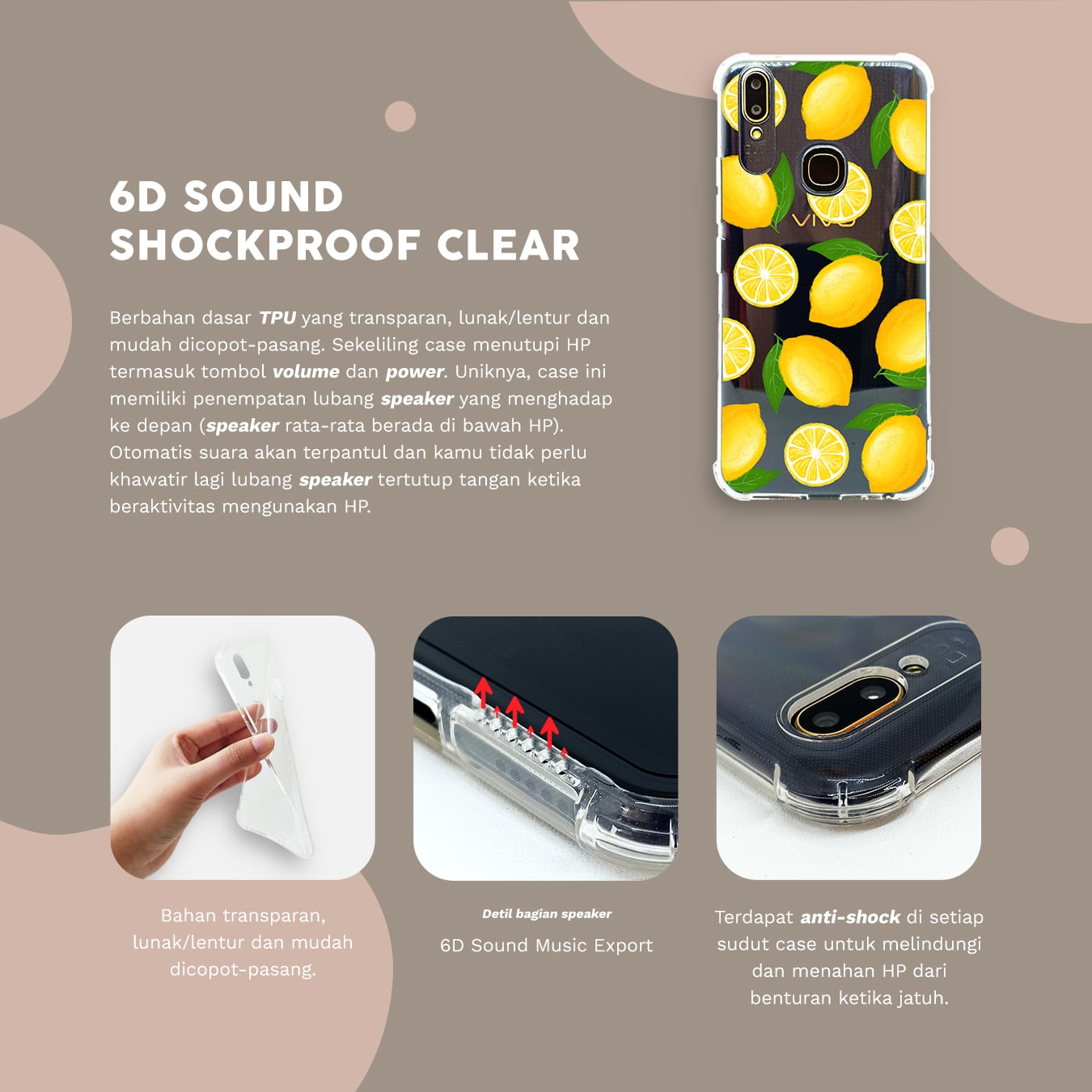 6D Sound Shockproof