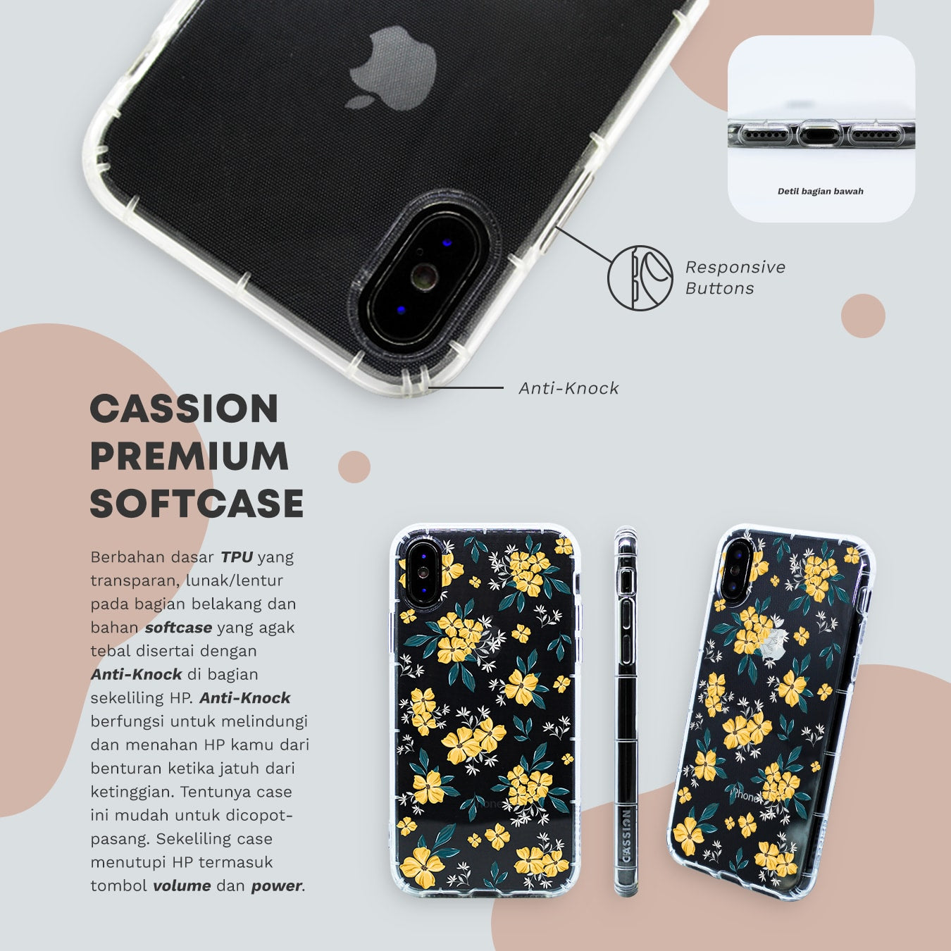 Cassion Premium Softcase
