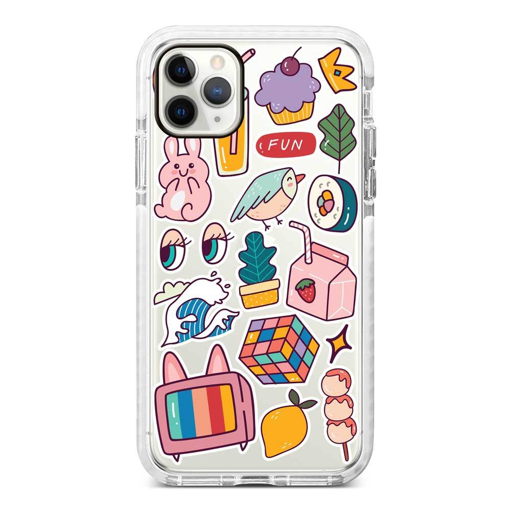 Aesthetic Sticker Case AES-11