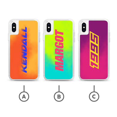 Put your name on it (Neon Sand Case)