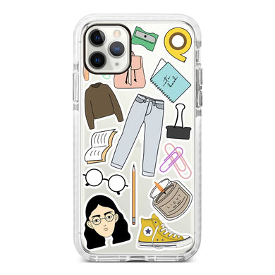 Nerd Girl Sticker - AES-19