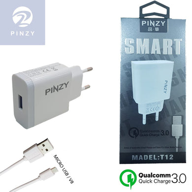 PINZY Charger T12 Series Support Qualcomm Quick Charge 3.0