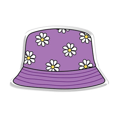 Purple Bucket Hat Acrylic Popup Stand