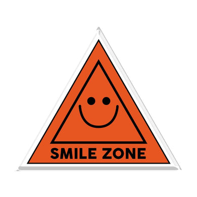 The Smile Zone Acrylic Popup Stand