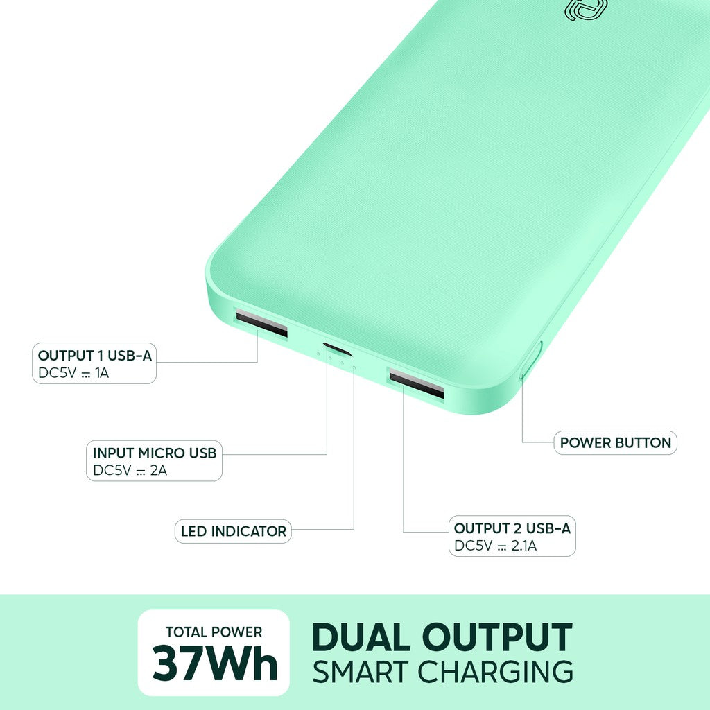 UNEED EasyBox B10 Powerbank 10.000mAh