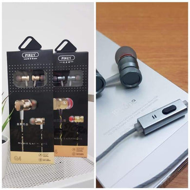 Headset / Earphone Original Pinzy Q4 Metal Good Quality
