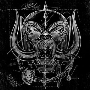 Limited edition Motorhead print - official merch