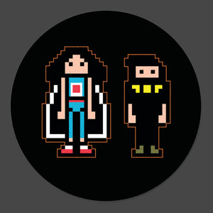 NSP Pixel art 3-Inch Button - Official Ninja Sex Party merch