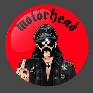 Lemmy 3-Inch Button - Official Motorhead merch