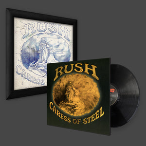 RUSH: Caress of steel print + Vinyl