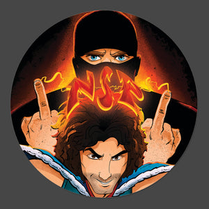 NSP Danny and Brian 3-Inch Button - Official Ninja Sex Party merch