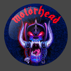 Motorhead 3-Inch Button - Official merch