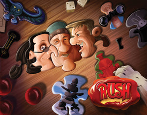 180-page book packed with RUSH Comics and art
