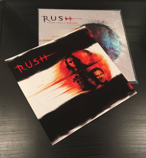 RUSH Vapor Trails Vinyl + Official Limited Art Print Bundle!