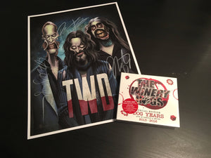 Special BUNDLE! SIGNED Limited edition The Winery Dogs Art Print! Plus Dog Years Deluxe!