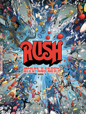 Rush Book - Where's Geddy, Alex & Neil?