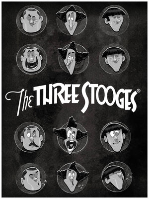 The Three Stooges Limited Official art print (45 made)
