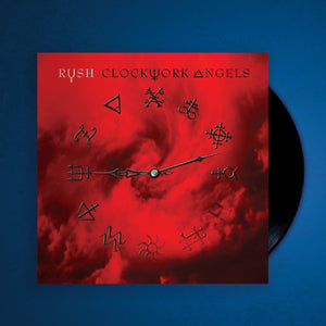 RUSH Clockwork Angels Double Vinyl