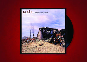 Rush A Farewell to Kings 200gr Vinyl Reissue!