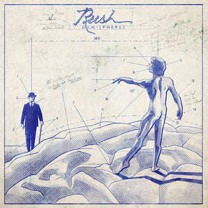 RUSH Hemispheres Blueprint (Limited)
