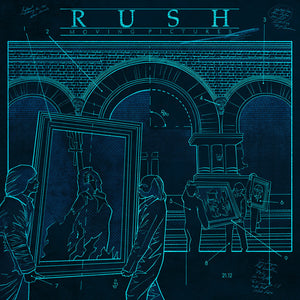"RUSH: Moving Pictures ""Cold Fire"" Blueprint (Limited to 100)"