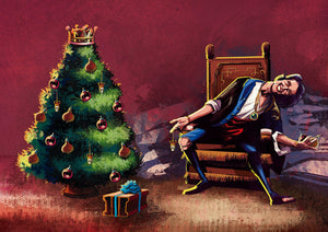 RUSH A Farewell to Kings Christmas Card