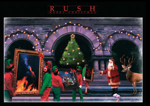 RUSH Moving Pictures Christmas Card