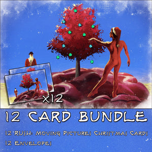RUSH: Hemispheres Christmas Card (Bundle of 12)