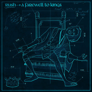 "RUSH: A Farewell to Kings ""Cold Fire"" Blueprint (Limited to 70)"