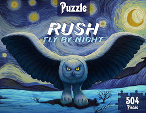 Fly By Starry Night Jigsaw Puzzle