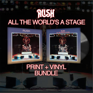 RUSH: All The World's a Stage & Vinyl Bundle