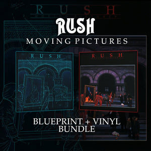 RUSH: Moving Pictures Blueprint & Vinyl Bundle