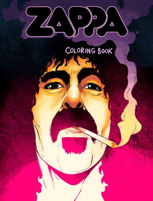 Frank Zappa Coloring Book - Paperback