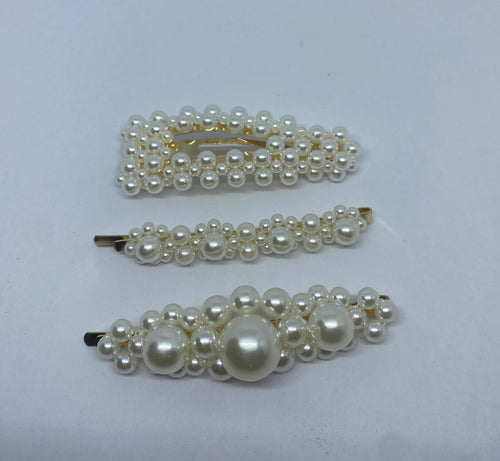 Lady Regal Hair Clips (Set of 3)