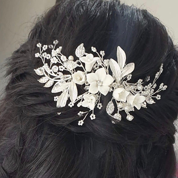 Serenity Bridal Hairpiece