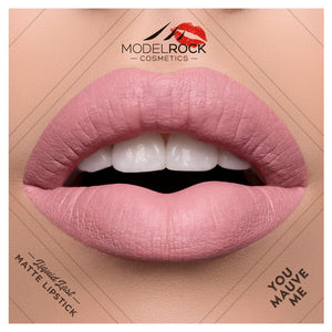 "Model Rock Matte Liquid Lipstick ""You Mauve Me"""